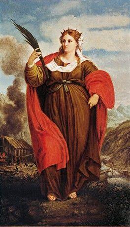 4 De Dezembro Santa Bárbara Mártir Religião Iansã Arte Católica