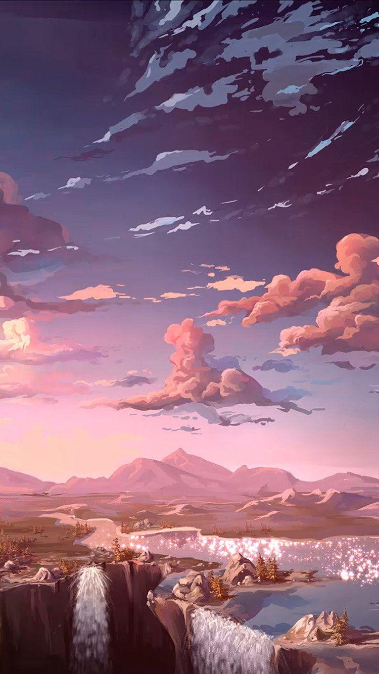 Papers Co Iphone Wallpaper Landscape Wallpaper Scenery Wallpaper Anime Scenery