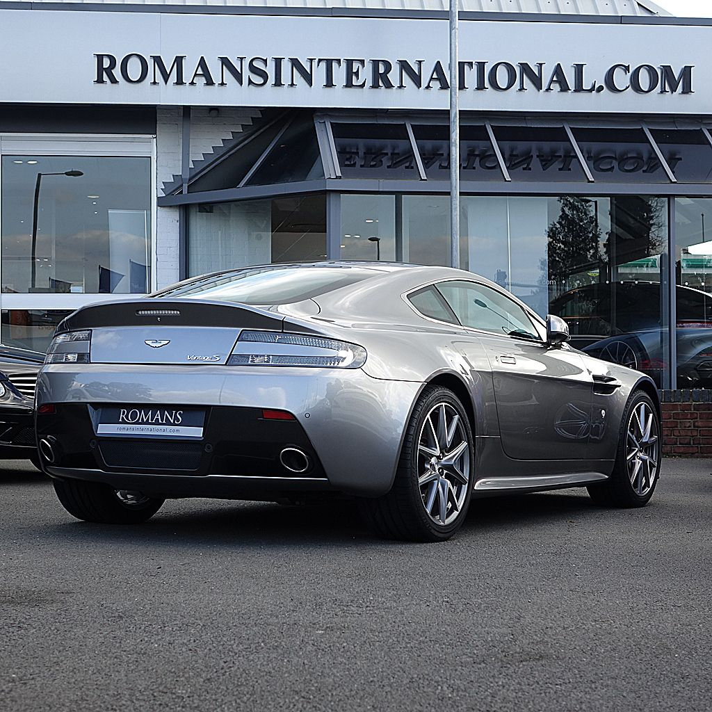 aston martin v8 vantage s in tungsten silver - still one of the