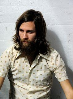 Long 70s Hair Men Google Search