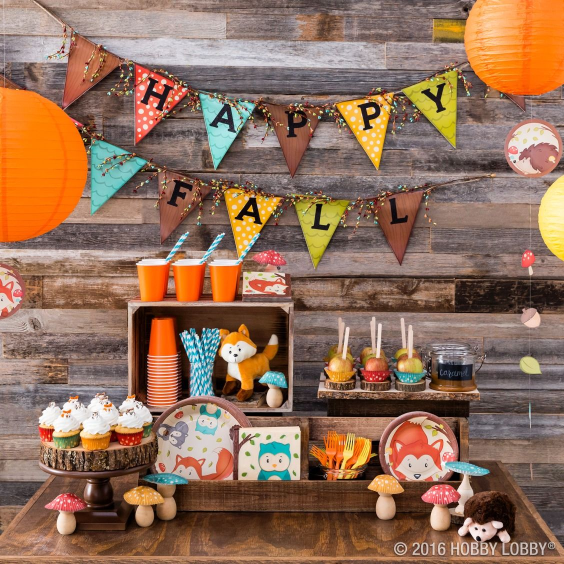 Host A Woodland Themed Fall Festival Complete With Cute Furry Friends And Woodsy Decor