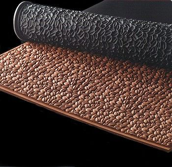PASTRY RELIEF MAT - COFFEE BEAN
