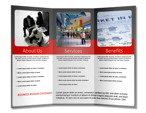 How To Design Make A Brochure That Stands Out Free Brochure Template How To Make Brochure Brochure Maker