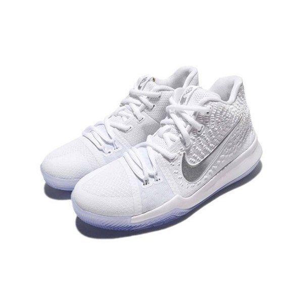a80229df052 Nike Kyrie 3 GS SZ 7Y White Chrome 859466-103  fashion  clothing  shoes   accessories  kidsclothingshoesaccs  boysshoes (ebay link)