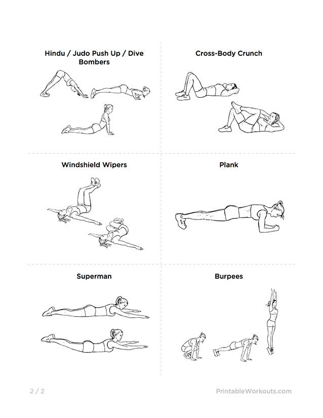 Bodyweight At-Home Full Body Slimming Workout | healthy