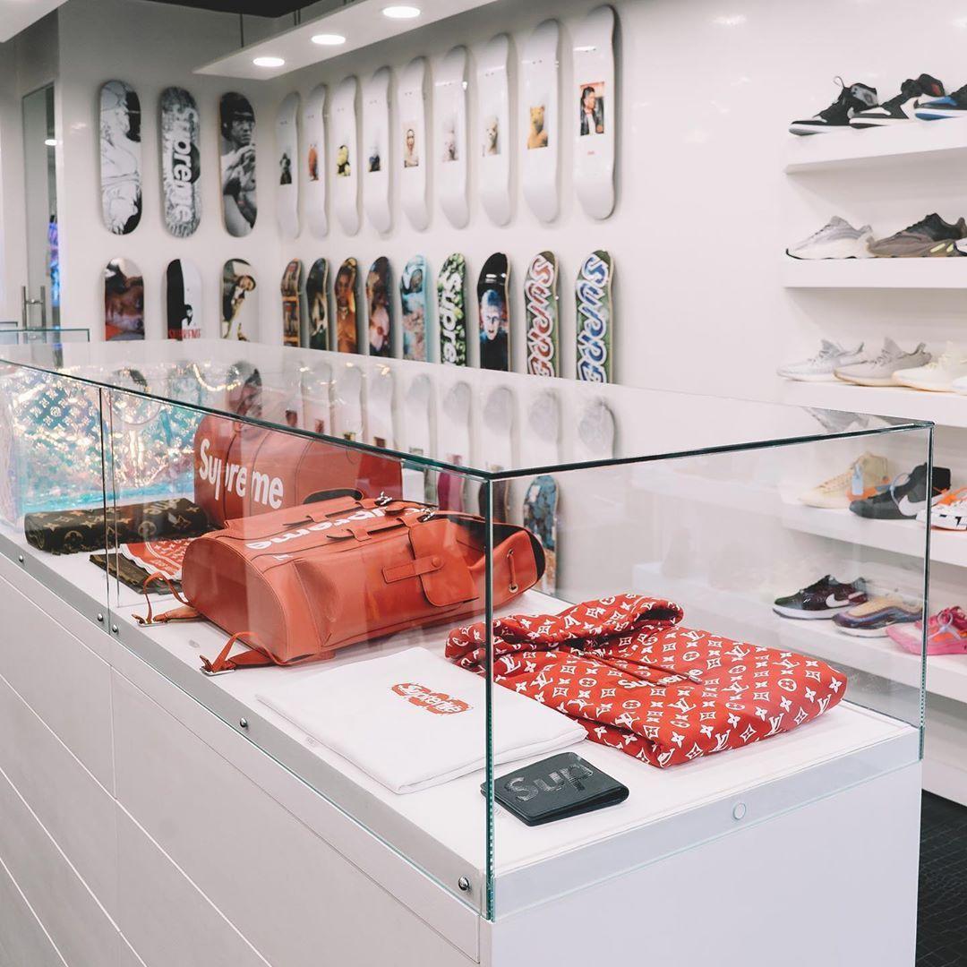 boutique London flagship store