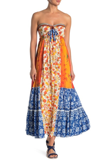 Free People Golden Dreams Strapless Maxi Dress Nordstrom Rack