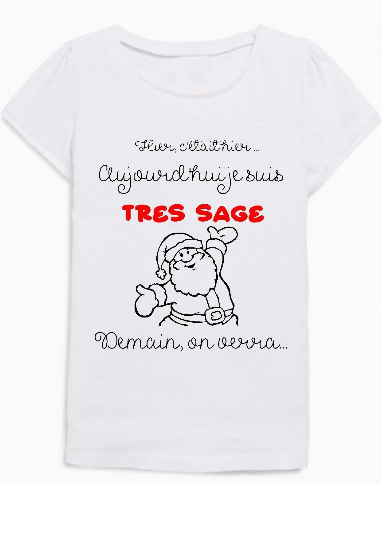 tee shirt noel enfant, tee shirt personnalisé, tenue de noel, père