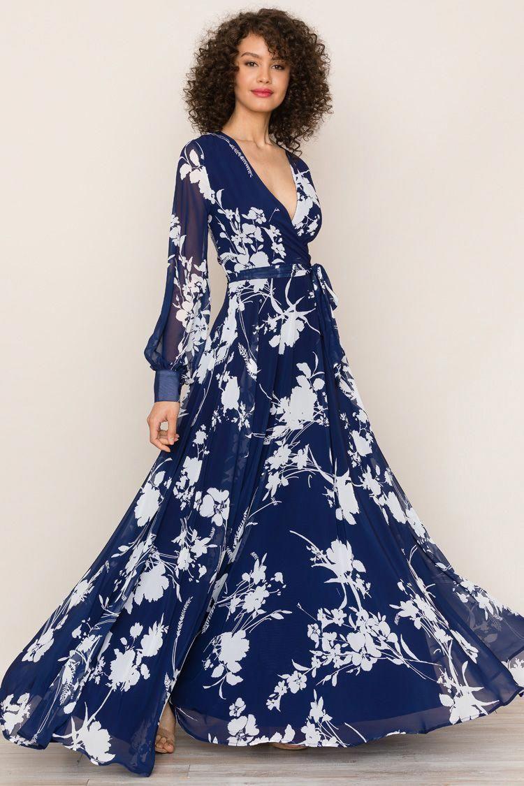 43+ Navy floral maxi dress information
