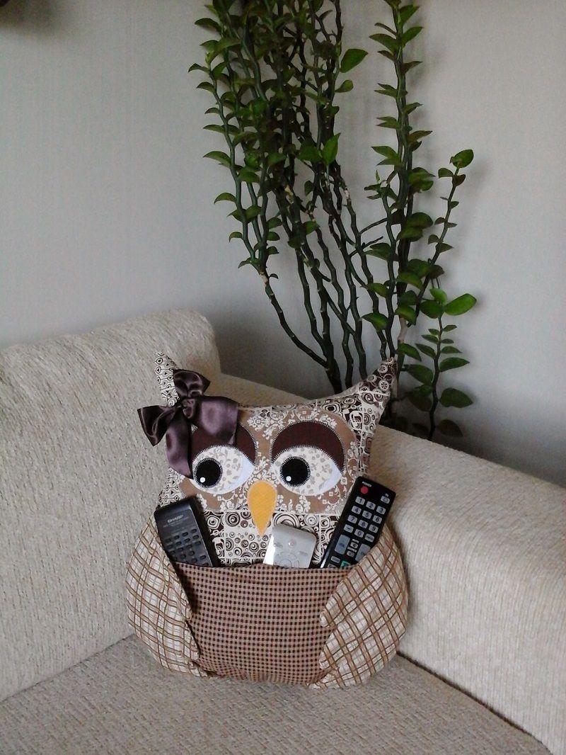 ... almofada de coruja artes? ana elgui www facebook com # almofada