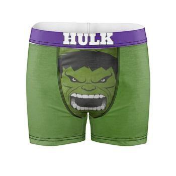 f27c47ec1b3 Boxer personalizzati marvel hulk | Dude ~ style in 2019 | Underwear ...