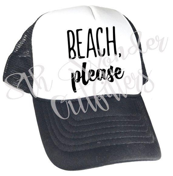 0015e2899 Beach Please Youth Trucker Hat - Toddler Trucker Hat - Beach Please ...