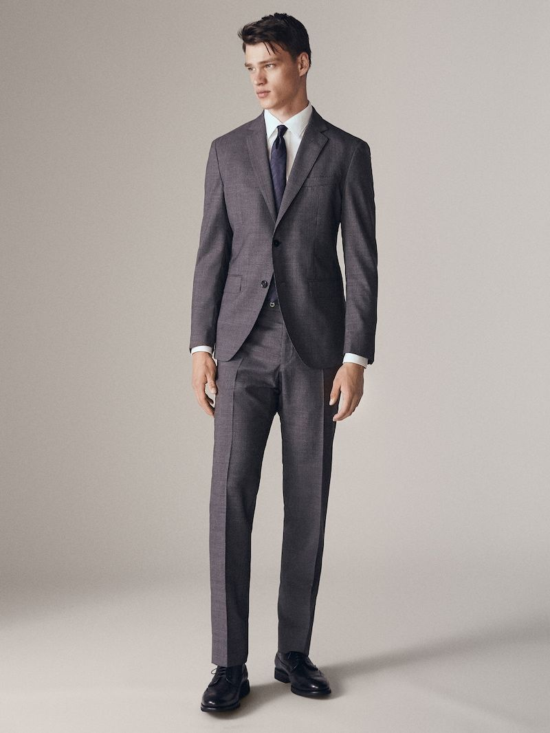 Trajes De Hombre Massimo Dutti Rebajas Invierno Mens Formal Wear Suits Formal Wear