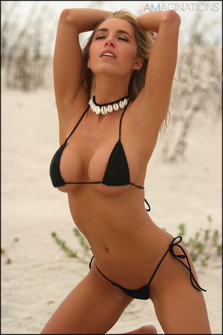 Remarkable message charity hodges black bikini