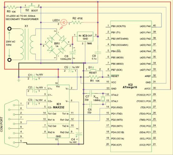 Trouble free programming using the AVR bootloader circuit http ...