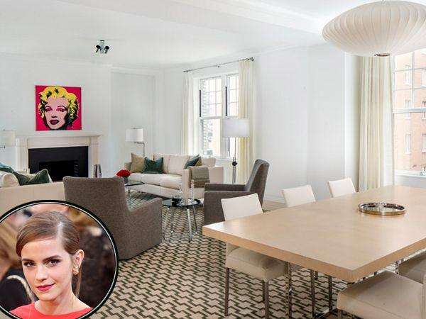 Emma Watson House Hunts for $3 to $15 Million Panty-Dropping Palaces - new blueprint coffee watson