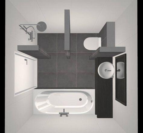 Kleine badkamer met bad én douche! - Beniers Badkamers | Bathroom ...