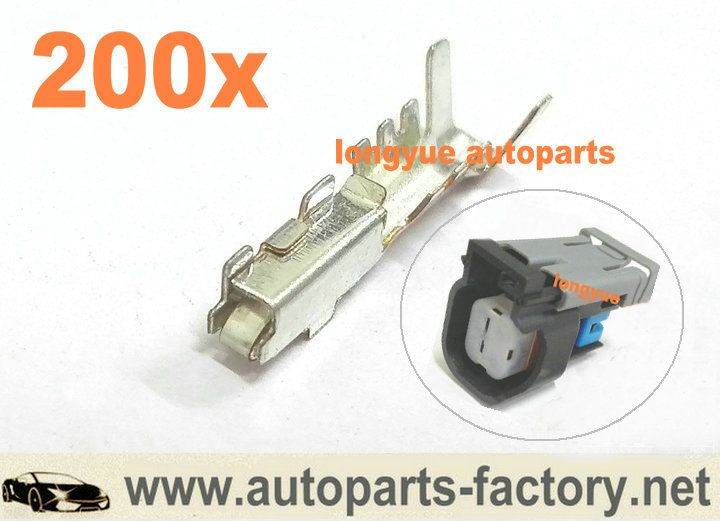 long yue Terminals Pins For EV6 Fuel Injector Connector LS2