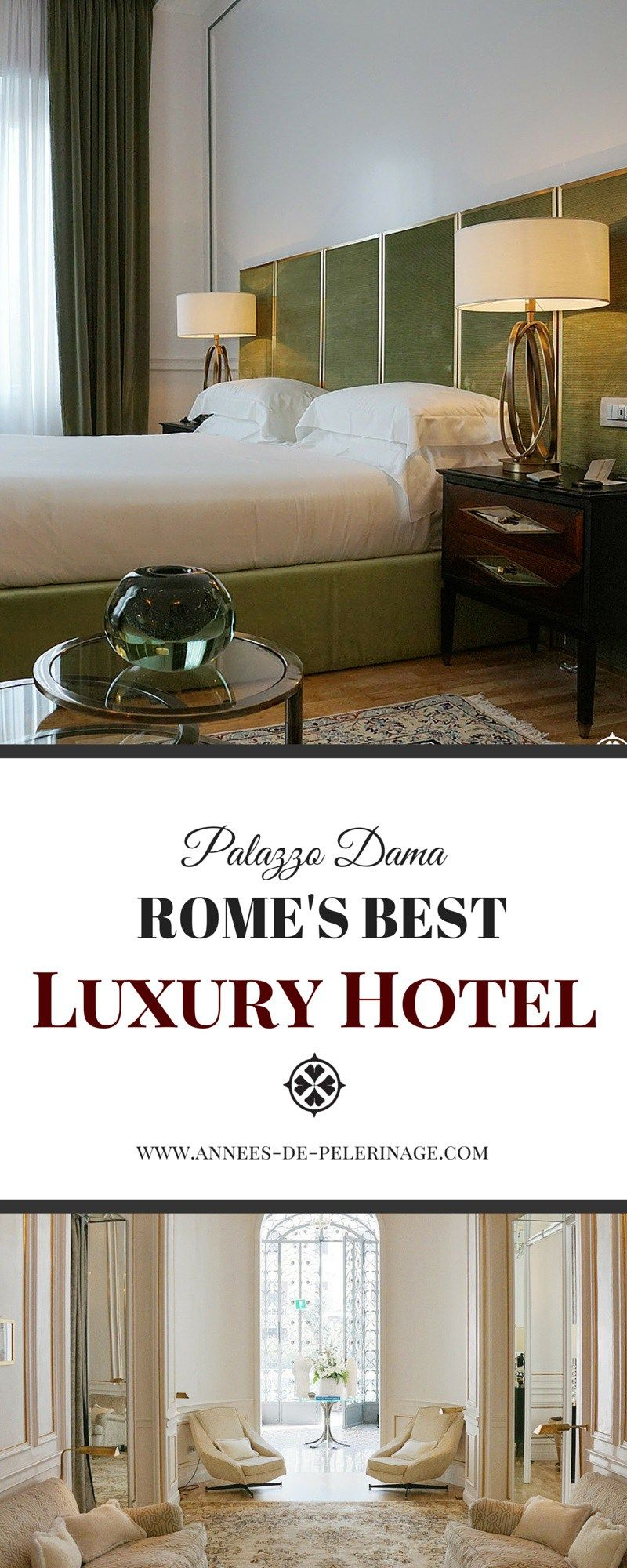 A review of the unique Palazzo Dama luxury hotel in Rome. Featuring outstanding contemporary design and perfect service, this might just be the best hotel in Rome. Click to read the full review.