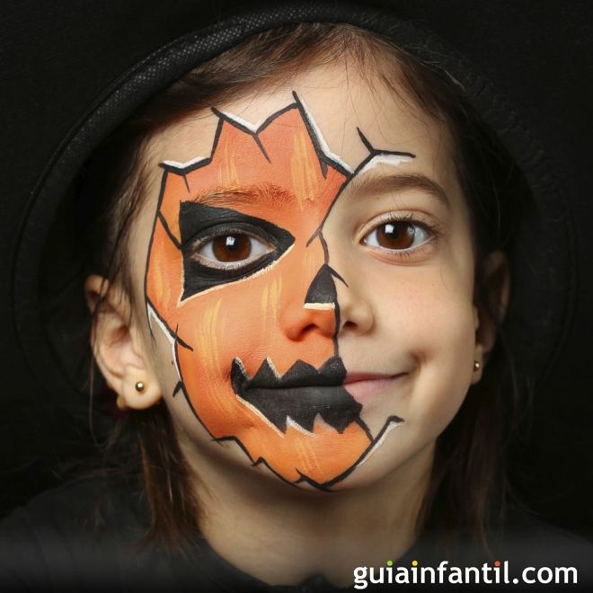 Ideas de maquillaje para Halloween Maquillaje para halloween - maquillaje de halloween para nios