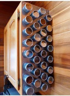 Photo of Spice Rack Storage Solutions – Sand and Sisal