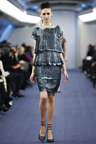 Chanel Spring 2012 Couture collection look #37