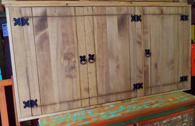 Rustico Armario Aereo Portas De Madeira Rustico Cozinha