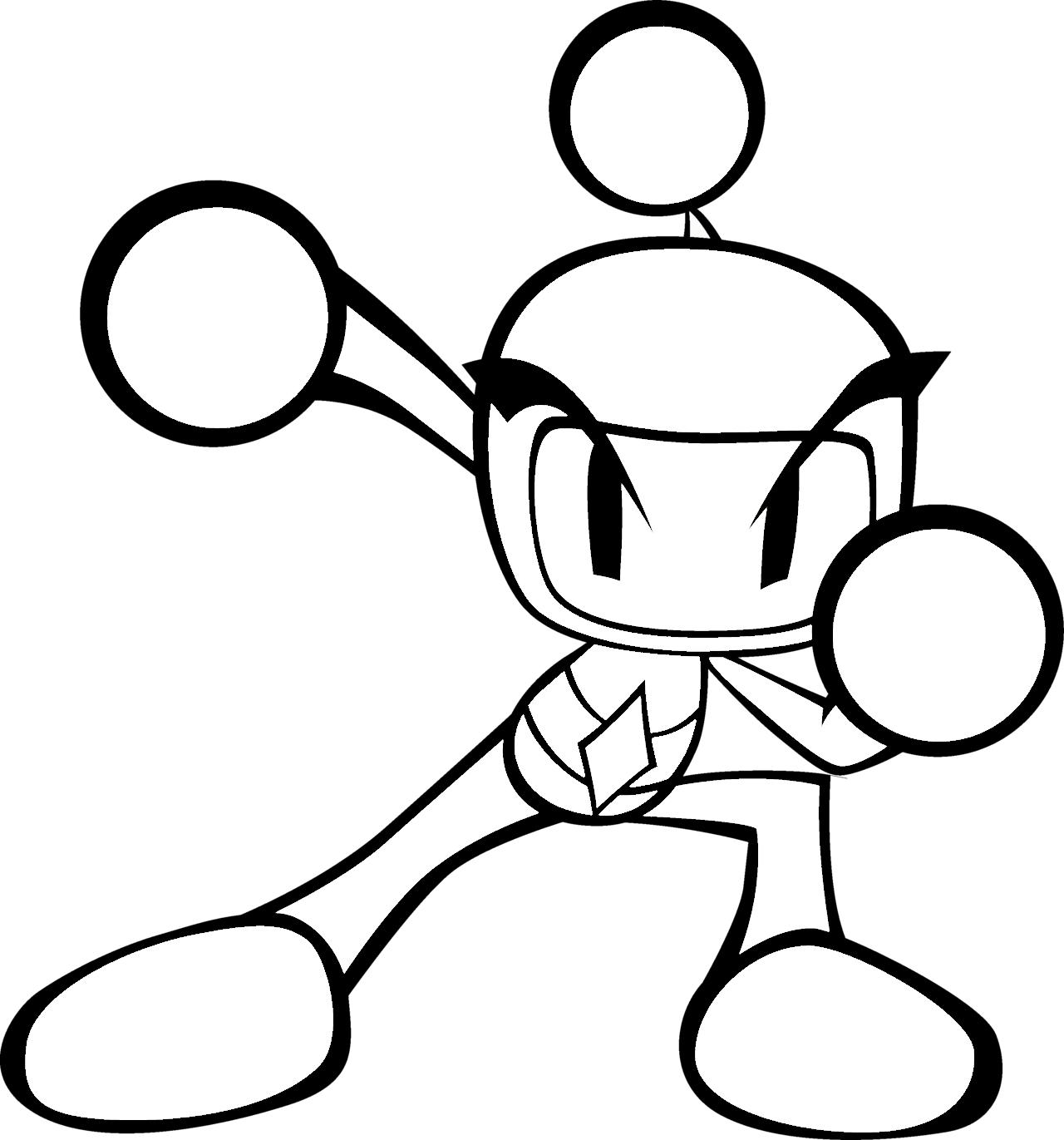 Bomberman Base 4 Anime Fnaf Art Bomberman