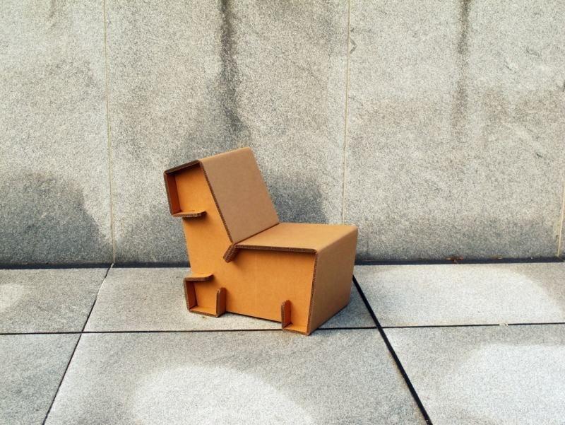 Moderne Möbel aus Pappe - Sessel | DIY - Möbel | Pinterest | Möbel ...
