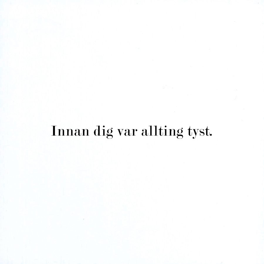 Oskar Linnros Translates To Before You Everything Was Quiet From Swedish Basta Citaten Citat Citat Pojkvan