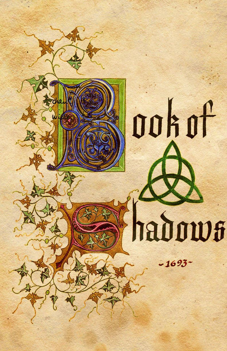 Charmed Book Of Shadows, ' AGED PAGES ' , Incantations
