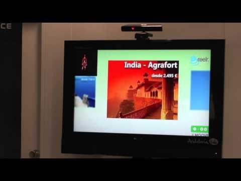 Reconocimiento de gestos Kmoove, de Reelr, en el Demo Lab de Andalucía Lab  www.andalucialab.org