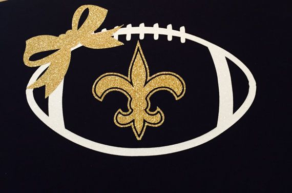 brand new 5b9f2 b3158 New Orleans Saints T-Shirt by 5thRowSouth on Etsy | saints ...