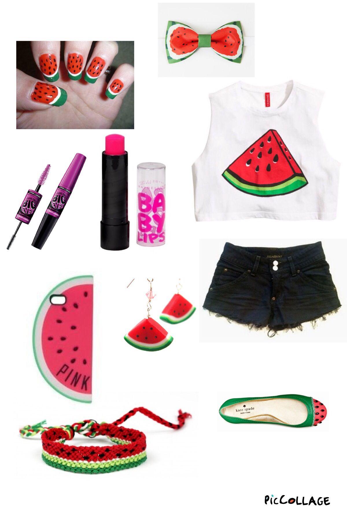 Cute melon outfit!