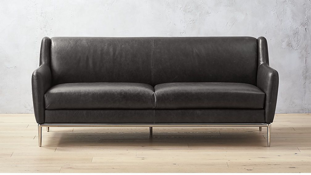 Alfred Black Leather Sofa Reviews Leather Sofa Living Room Best Leather Sofa Sofa Review
