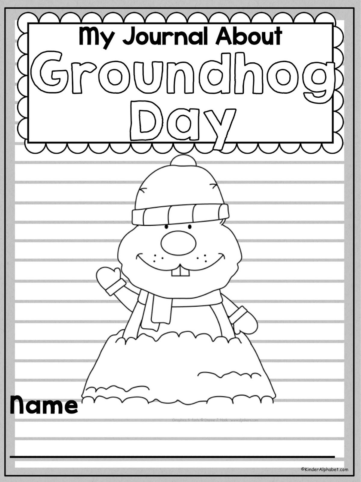 Groundhog Day Freebie On The Blog