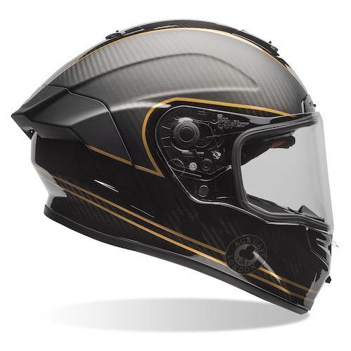 Bell Race Star Ace Cafe Speed Check Helmet - @RevZilla
