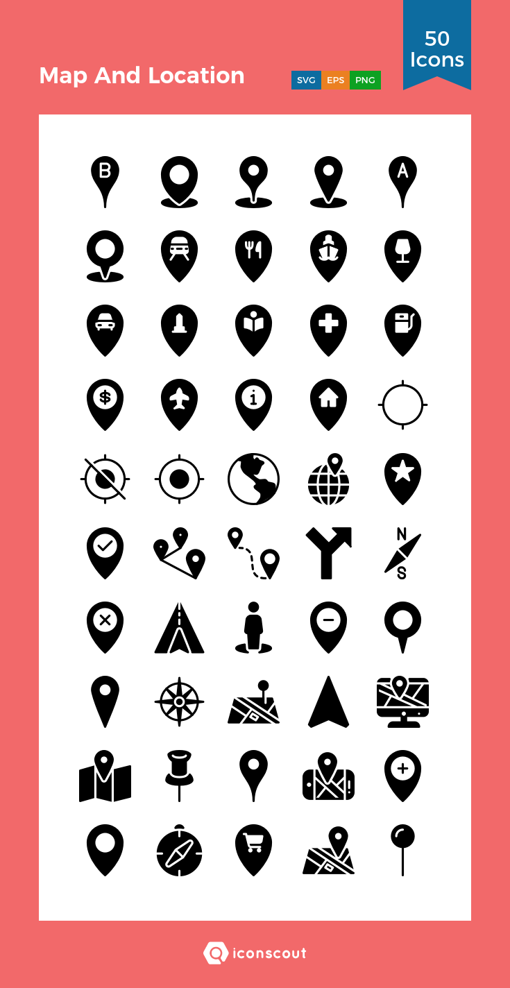 Download Map And Location Icon Pack Available In Svg Png Eps Ai Icon Fonts Location Icon Map Icons Marker Icon