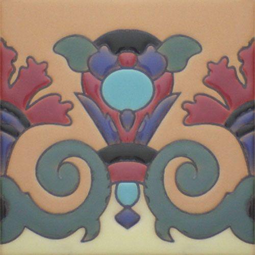 Prima Mexican Tile - Antorcha Verde