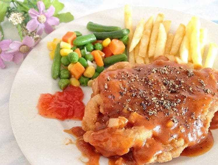 Grilled Cajun Style Tuna Steak With Creamy Dill Sauce Ala Dentist Chef Resep Tuna Makanan Resep Makanan