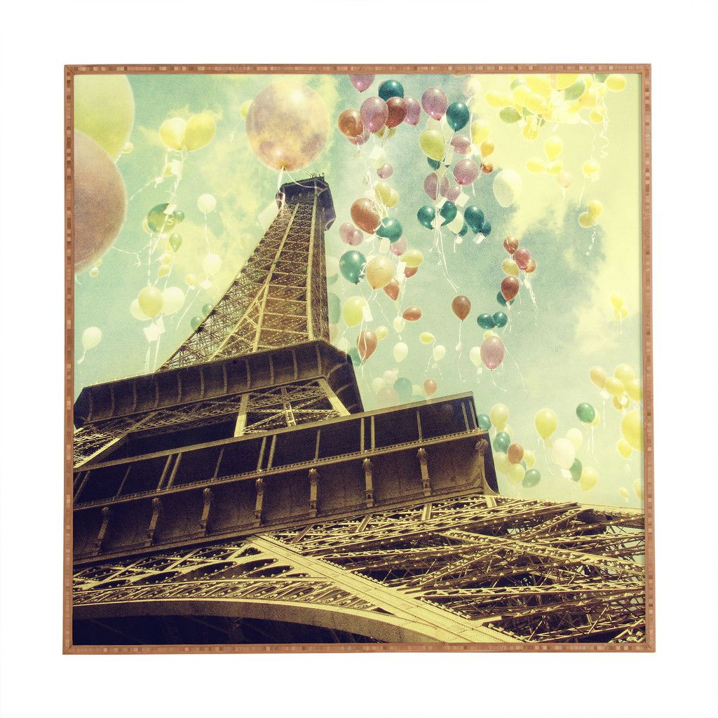 Chelsea Victoria Paris Is Flying Framed Wall Art | Dorm Style ...