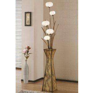 Mulberry Rice Paper Ball Handmade Flower Pot Design Art Shade