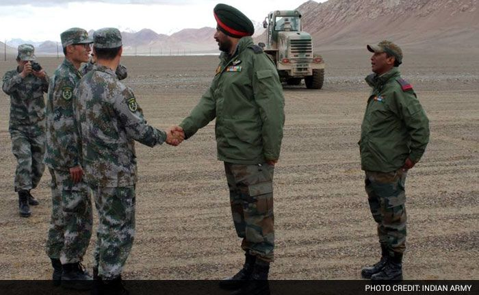 India China Military Officials Hold Meeting To Enhance Border