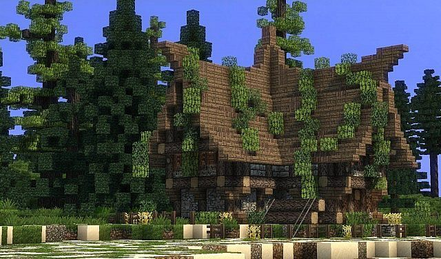 Medium Sized Medieval House Minecraft Project Minecraft Medieval Minecraft Projects Medieval Houses