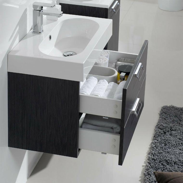 Lavabos modernos 50 opciones de diseño Lavabo, Baño moderno y Moderno