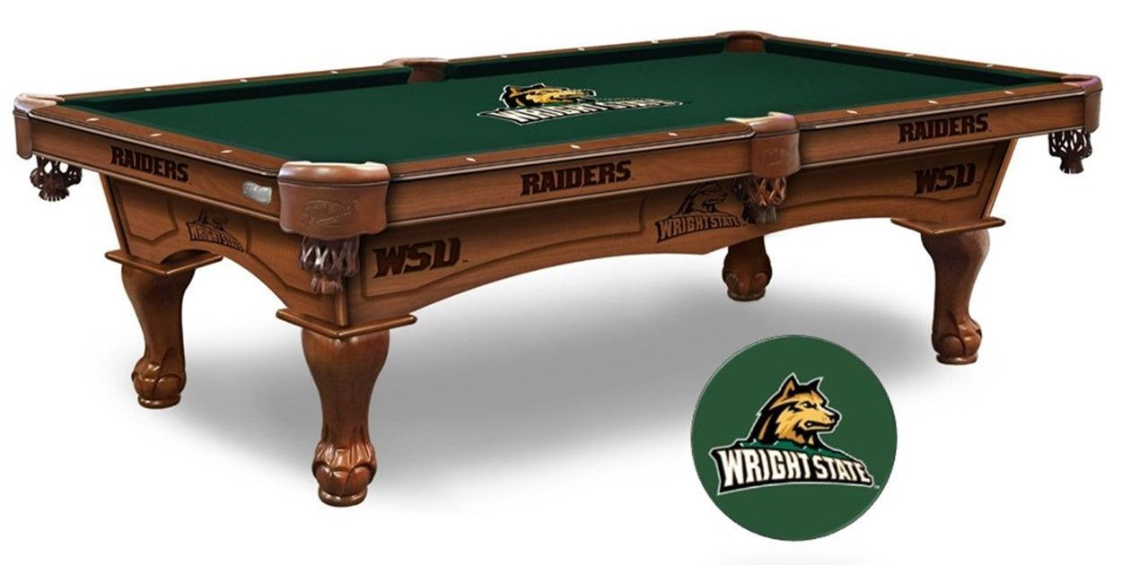 The Wright State Raiders Pool Table Is Available In An Length.