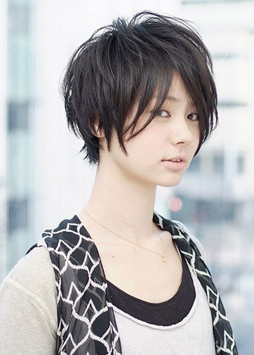 Cute And Funky Short Asian Hairstyles Asian Short Hair Shaggy
