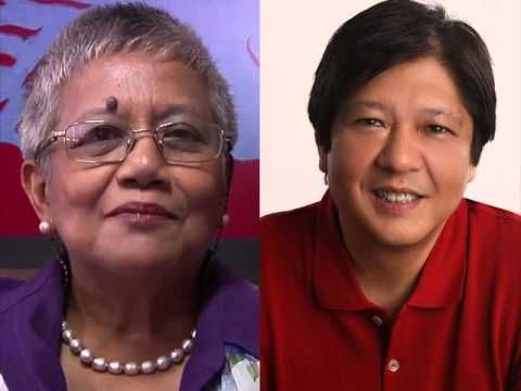 Bongbong Marcos and Teresita Deles Mamasapano Audio Recording Scandal