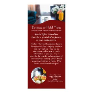 Hotel Rack Card Templates  Google Search  Rack Card Ideas