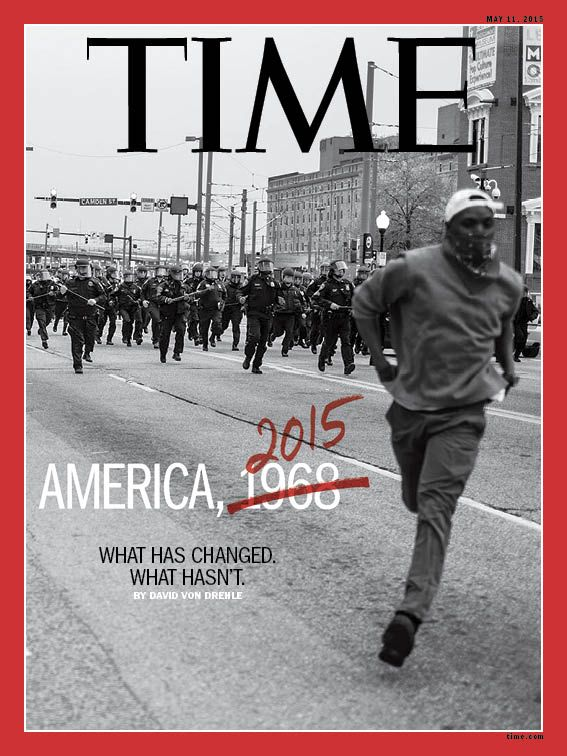 PHOTO: DEVIN ALLENGo Behind TIME's Baltimore Cover With Aspiring Photographer Devin AllenDevin Allen, who shot this week's TIME cover, is a Baltimore resident